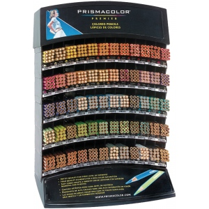 Prismacolor® Premier Colored Pencil Display Assortment: Multi, (model PC60D), price per each