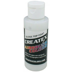 Createx™ Airbrush Top Coat Gloss 2oz: Bottle, 2 oz, Airbrush, (model 5604-02), price per each