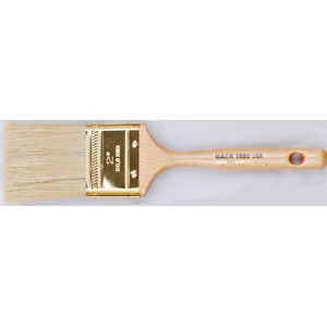 Mack White Bristle Double Cutter Series 5880 Brush