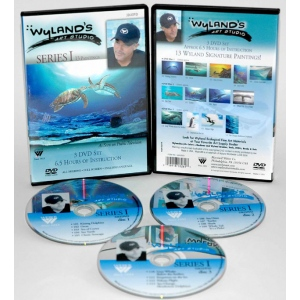 Wyland Art Studio DVD: 13 Episodes, Series 2 (6.5 Hour)