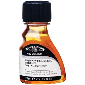 Winsor & Newton™ Liquin™ Fine Detail Medium 75ml: 75 ml, Oil Alkyd
