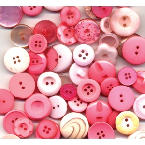 Buttons Galore & More Grab Bag Bubblegum