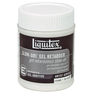 Liquitex® Slow-Dri® Gel Retarder 8oz: 8 oz, Acrylic Retarder, Gel, (model 125408), price per each