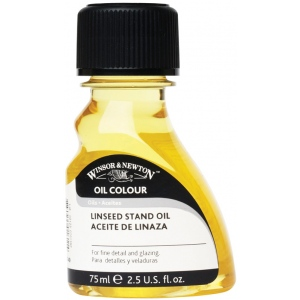 Winsor & Newton™ Stand Linseed Oil 75ml: 1 ltr, Linseed Oil, (model 3221749), price per each