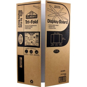 "Elmer's® 36 x 48 Display Board White: White/Ivory, Sheet, 25 Sheets, 36"" x 48"", Display Board, (model 730-300), price per 25 Sheets box"