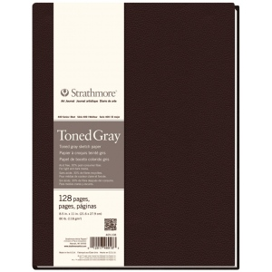 Strathmore® 400 Series Sewn Bound Toned Sketch Art Journal