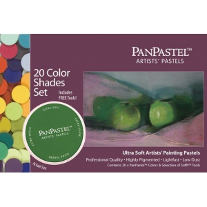 PanPastel Ultra Soft Painting Pastel Shades Set