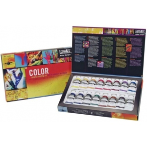 Liquitex® Professional Series Heavy Body Color Set: Multi, Tube, 22 ml, Acrylic, (model 101042), price per set