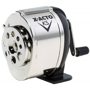 X-Acto® KS Manual Sharpener: Black/Gray, One, Steel, Manual, (model KSR), price per each