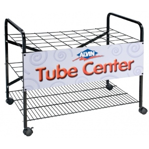"Rack for Tubes: 4"" Square Compartments"