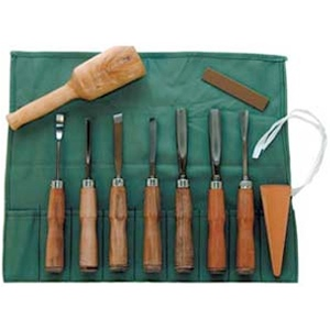 Sculpture House Wood Carving Set