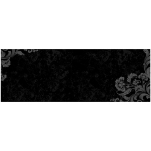 "Wallies® 9 x 25 Peel & Stick Chalkboard Sheet Frilly: 9"" x 25"", Chalkboard, (model WALL16017), price per each"