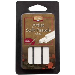 Heritage Arts™ White Artist Soft Pastel Set