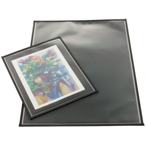 "Prestige™ Archival Print Protector 17"" x 22"": Black/Gray, Polypropylene, 17"" x 22"", (model AA1722-6), price per pack"