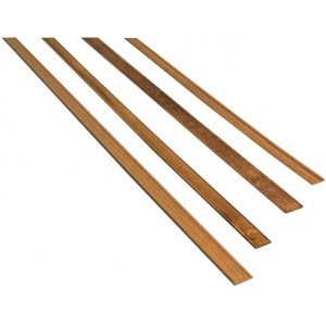 "Midwest Walnut Door Trim Interior 7-Pack: Strip, Walnut, 24"", 7 Strips, (model MW3151), price per 7 Strips"