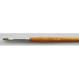Kolinsky Sable Long Handle Bright Brush # 4 (Made in Russia)