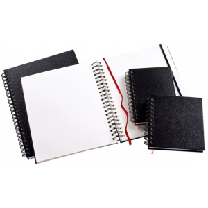 "Heritage Arts™ Wirebound Sketchbook 10 x 10: Wire Bound, White/Ivory, Book, 110 Sheets, 10"" x 10"", 70 lb"