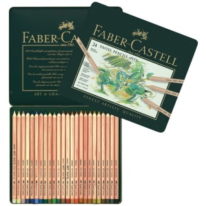 Faber-Castell PITT Pastel Pencils: Set of 24