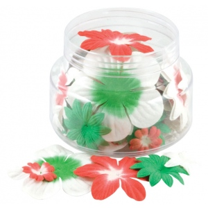 "Blue Hills Studio™ Irene's Garden™ Jar O'Blooms Christmas: Multi, Paper, 2 1/2"", Dimensional, (model BHS813), price per each"