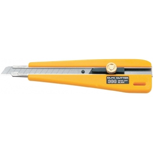 Olfa® 300 Utility Knife: Snap Blade, Knife, (model OL-300), price per each