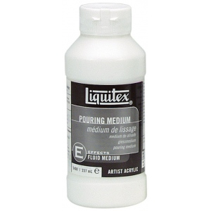 Liquitex® Pouring Medium 8oz: 8 oz, Acrylic Painting, (model 5408), price per each