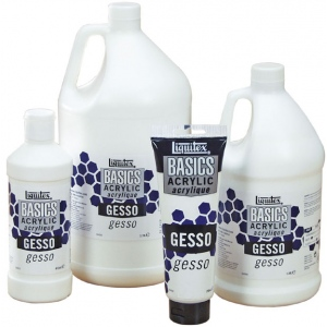 Liquitex® Basics Gesso 1 gallon: Jug, 1 gal, Gesso, (model 104090), price per each