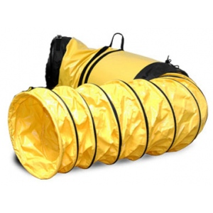 "ElectroCorp Vinyl Hose with Cuff & Bag: 25"", Yellow"