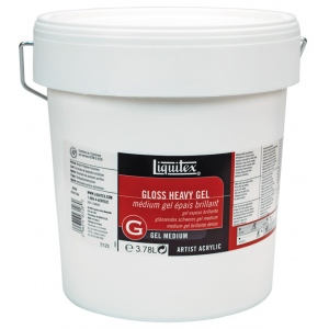 Liquitex Gloss Heavy Gel Medium 1 Gallon 128 Oz