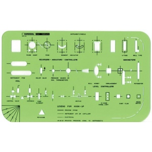 Rapidesign Instrument Symbols Template