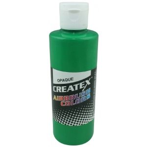 Createx™ Airbrush Paint 4oz Opaque Light Green: Green, Bottle, 4 oz, Airbrush, (model 5205-04), price per each