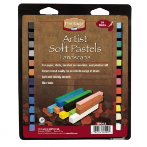 Heritage Arts™ Artist Soft Landscape 24-Color Pastel Set: Multi, Stick, Soft