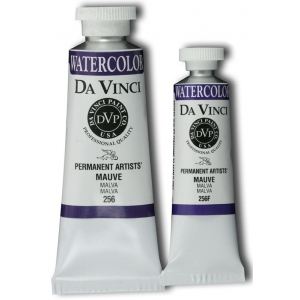 Da Vinci Artists' Watercolor Paint 15ml Mauve: Purple, Tube, 15 ml, Watercolor