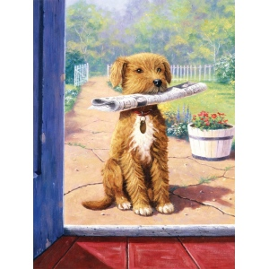 "Royal & Langnickel® Painting by Numbers™ 8 3/4 x 11 3/8 Junior Small Set The News Boy: 8 3/4"" x 11 3/8"", (model PJS47), price per set"