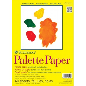 Strathmore® 300 Series Tape Bound Palette Paper Pad
