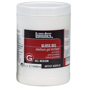 Liquitex® Gloss Gel Medium 32oz: Gloss, 32 oz, Gel, (model 5732), price per each