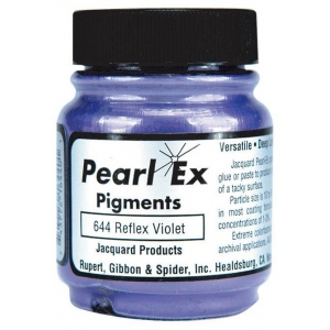 Pearl Ex Powdered Pigment Reflex Violet: Purple, Jar, .75 oz, (model J644), price per each