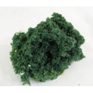 Wee Scapes™ Architectural Model Medium Green Bush Foliage Cluster: Green, 150 sq in, Poly Fiber, Turf, Foliage, (model WS00342), price per each
