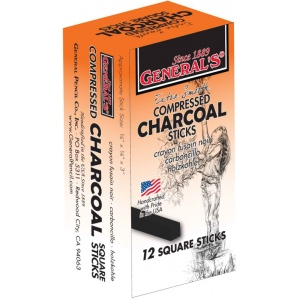 General's® Compressed Charcoal Sticks