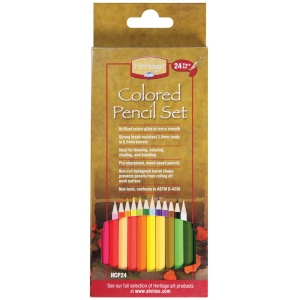 Heritage Arts™ Colored Pencil Set