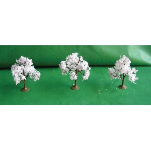 "Wee Scapes™ Architectural Model Cherry Trees: Green, 3-Pack, 2 1/4"" - 2 1/2"", (model WS00335), price per 3-Pack"
