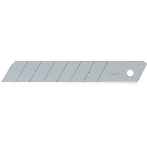 Olfa® LB Snap-Off 18mm Steel Blades 5-Pack: Refill, Knife, (model OR-LB5B), price per pack