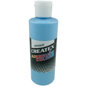 Createx™ Airbrush Paint 4oz Opaque Sky Blue: Blue, Bottle, 4 oz, Airbrush, (model 5207-04), price per each
