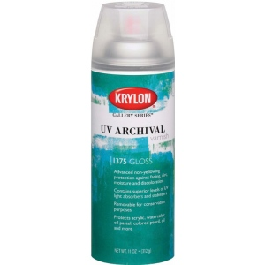 Krylon® Gallery Series™ UV Archival Varnish Sprays