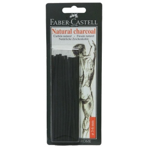 Faber-Castell® Natural Willow Charcoal Stick Sets