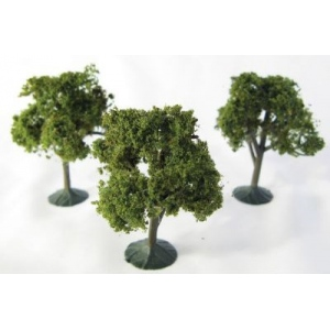 "Wee Scapes™ Architectural Model Deciduous Trees 3-Pack: Multi, Wire, 3-Pack, 2 1/4"" - 2 1/2"", Tree, (model WS00321), price per 3-Pack"