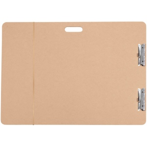"Heritage Arts™ Artist Sketch Board 28"" x 38"": Brown, 28"" x 38"", Masonite, Drawing Board"