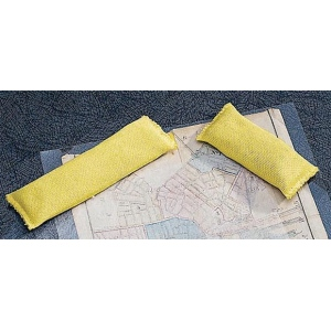 "Lineco® 1/2lb Weight Bag: Yellow, 1 3/8"" x 4 1/2"", .5 lb"