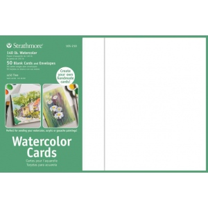 Strathmore® 5 x 6.875 Watercolor Cards and Postcards