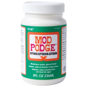 Mod Podge® Outdoor 8 oz. : Bottle, 4 oz, (model PLCS11220), price per each