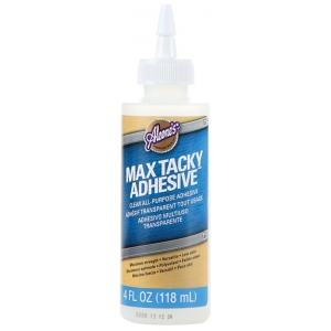 Aleene's® Tacky Glue™ Max Tacky Adhesive: Bottle, 4 oz, Tacky, (model D31200), price per each